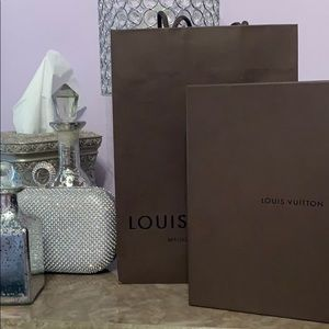 Louis Vuitton gift bag and gift box